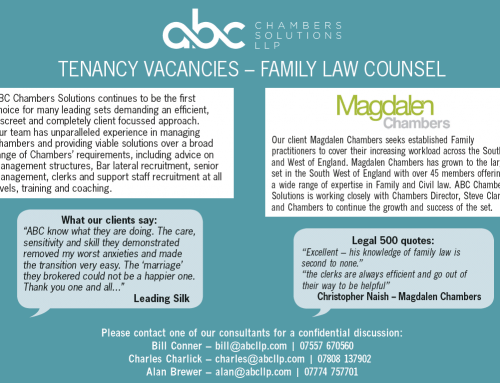 Tenancy Vacancies- Family Law Counsel