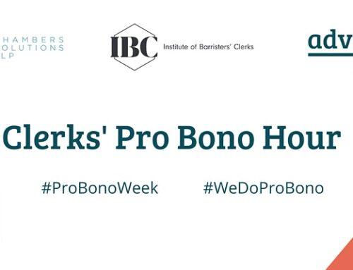 Clerks' Pro Bono Hour